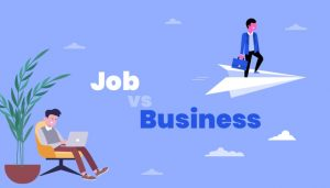 Why is doing business better than a job?